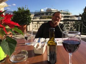 Sen gick vi till Benaki för en lunch och en andra tur runt på muséet. Det blev El Greco och ikoner.