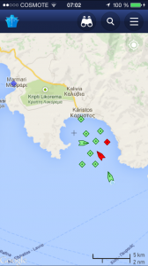 Det är trångt i vår vik, två oljetankers och nio lastbåtar.
